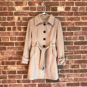 Jackets & Blazers - Light wool trench coat